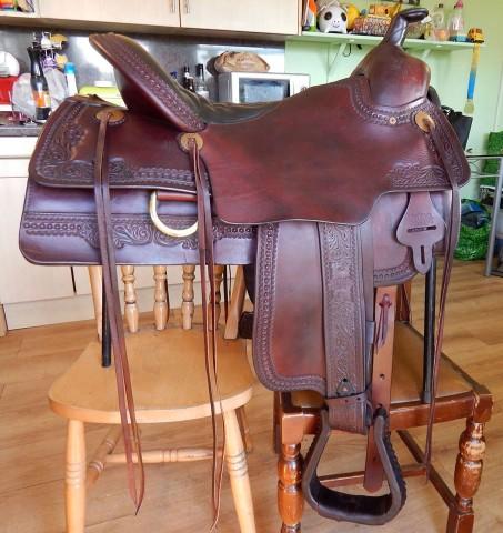 Tucker Elk horn western saddle - uk - Saddles | Westerntacktrader